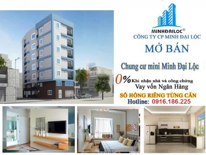 Mở bán chung cư mini Minh Đại Lộc