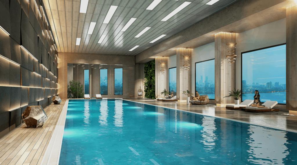 bể bơi dự án D'el Dorado