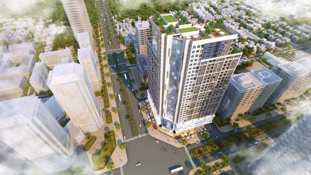Phối cảnh dự án Golden Park Tower