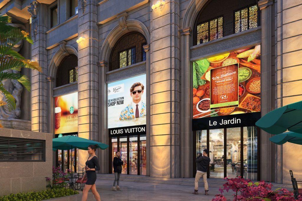Tầng thương mại dự án D'el Dorado