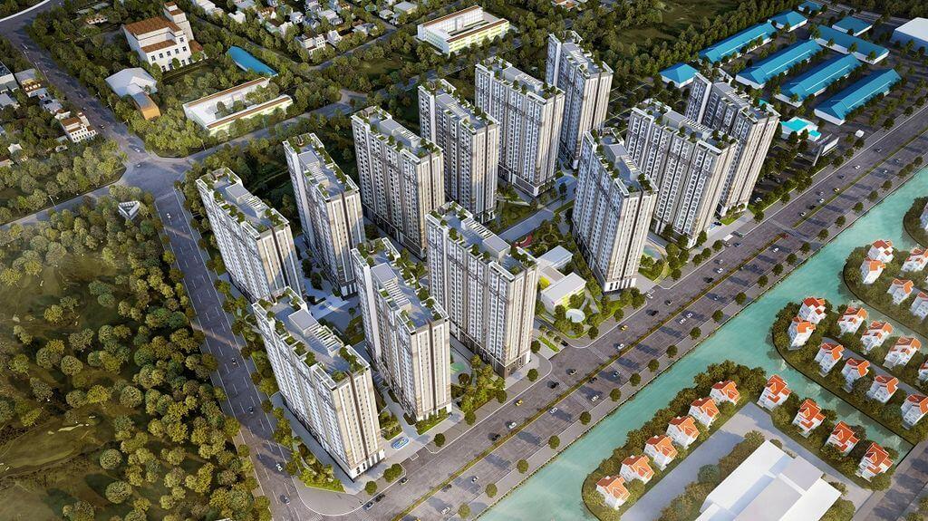Thiết kế tổng thể dự án Him Lam Phúc Lợi