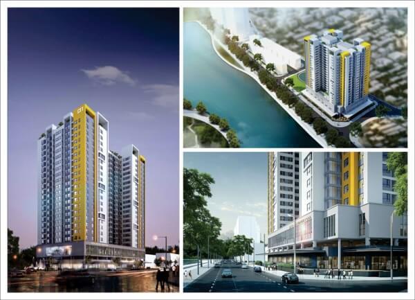 Vị trí đắc địa của dự án Rice City Thượng Thanh