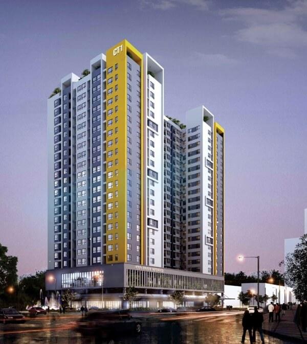 Phối cảnh dự án Rice City Thượng Thanh Long Biên