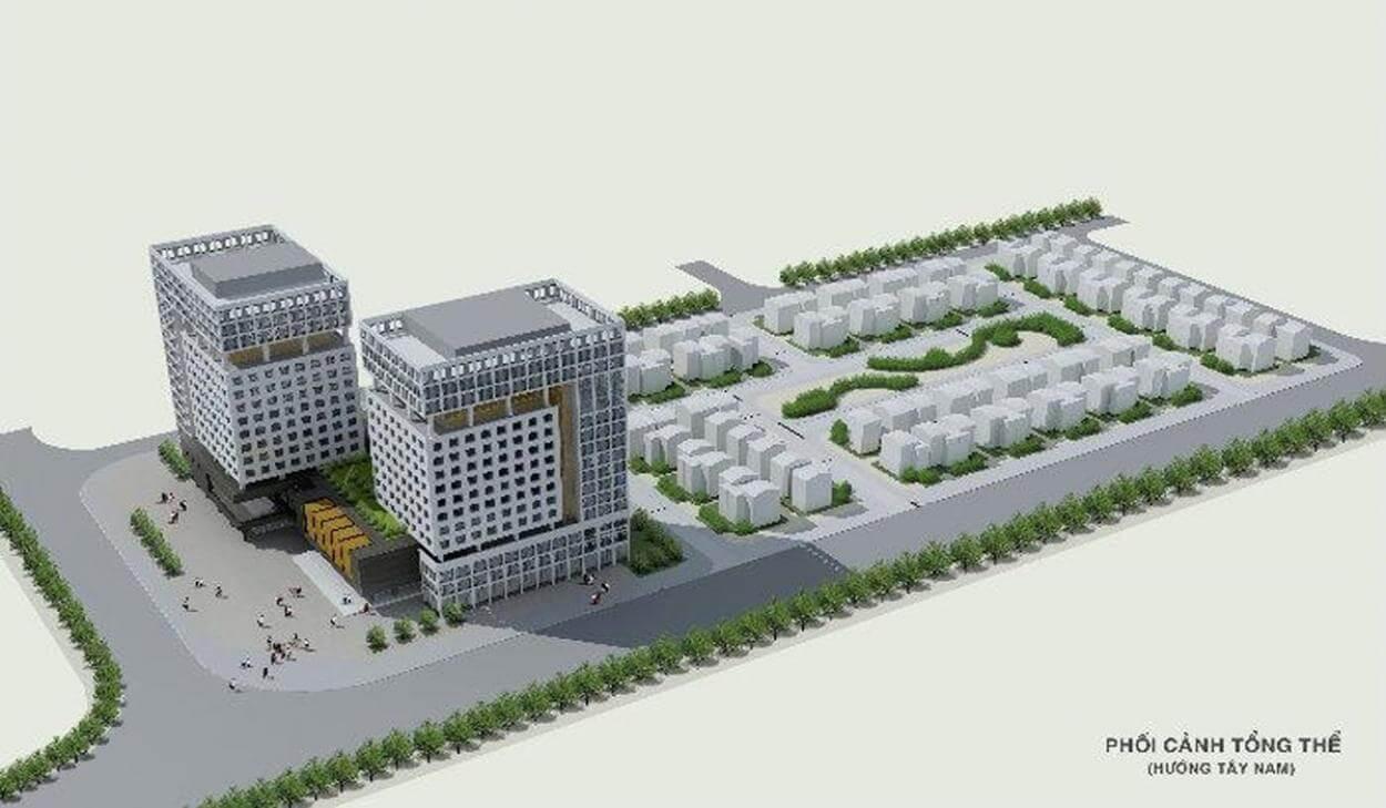 Mặt bằng tổng thể dự án Rivera Park Long Biên