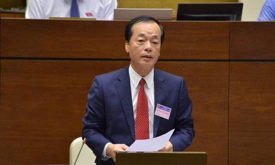Bộ trưởng Bộ Xây dựng Trần Hồng Hà trả lời chất vấn