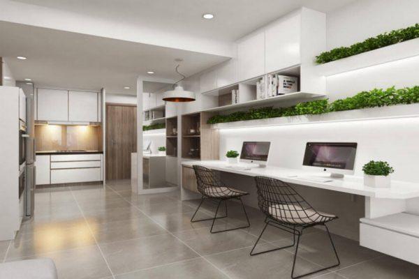 Mô hình căn hộ Officetel ở Hà Nội