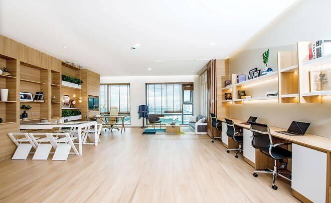 Căn hộ Officetel đã hoàn thiện nội thất