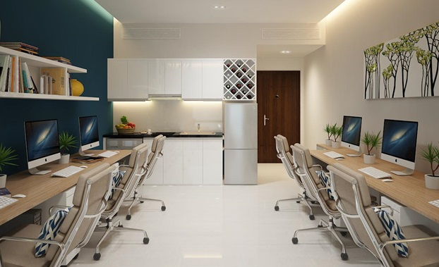 Nội thất căn hộ Officetel Ciputra - Võ Chí Công