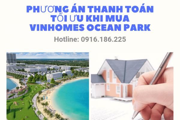 Chọn phương án thanh toán khi mua vinhomes ocean park