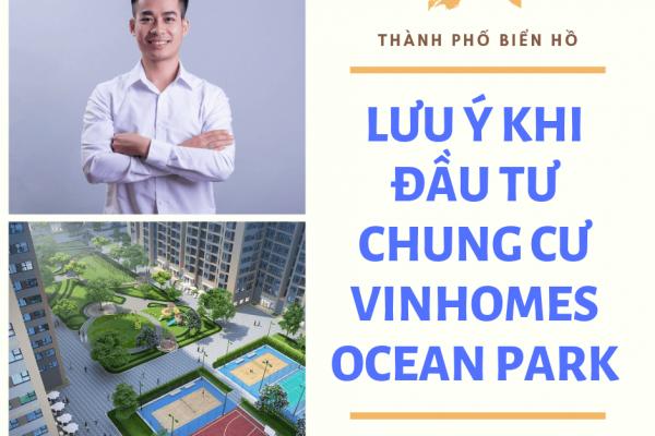 Cơ hội đầu tư tại Vinhomes Ocean Park