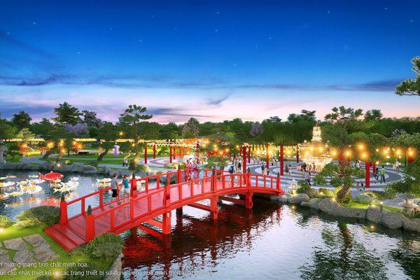 Vườn Nhật Bản tại Vinhomes Smart City