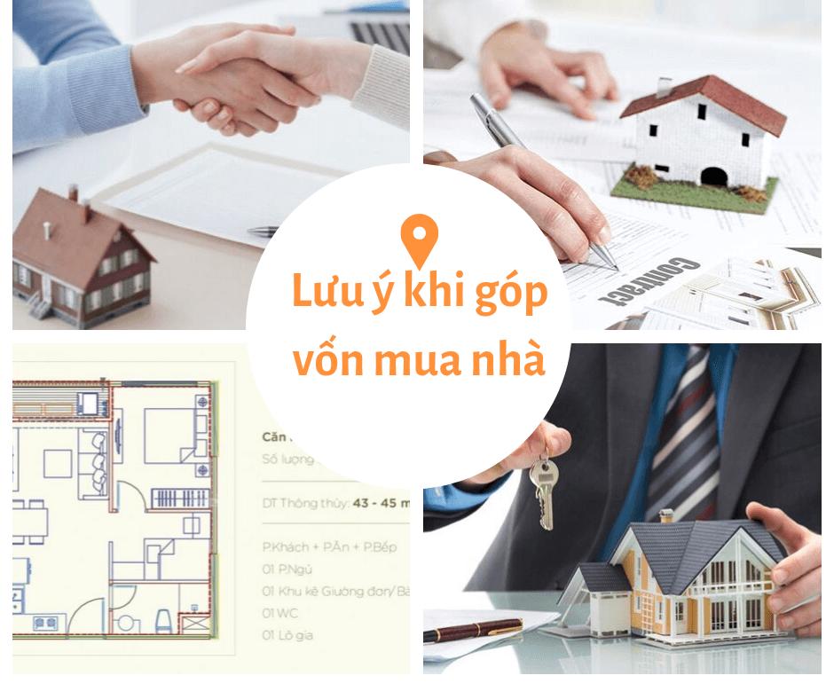 Lưu ý khi góp vốn mua nhà!