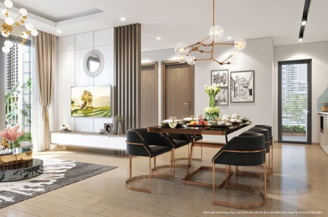 Thiết kế nổi bật của căn hộ
