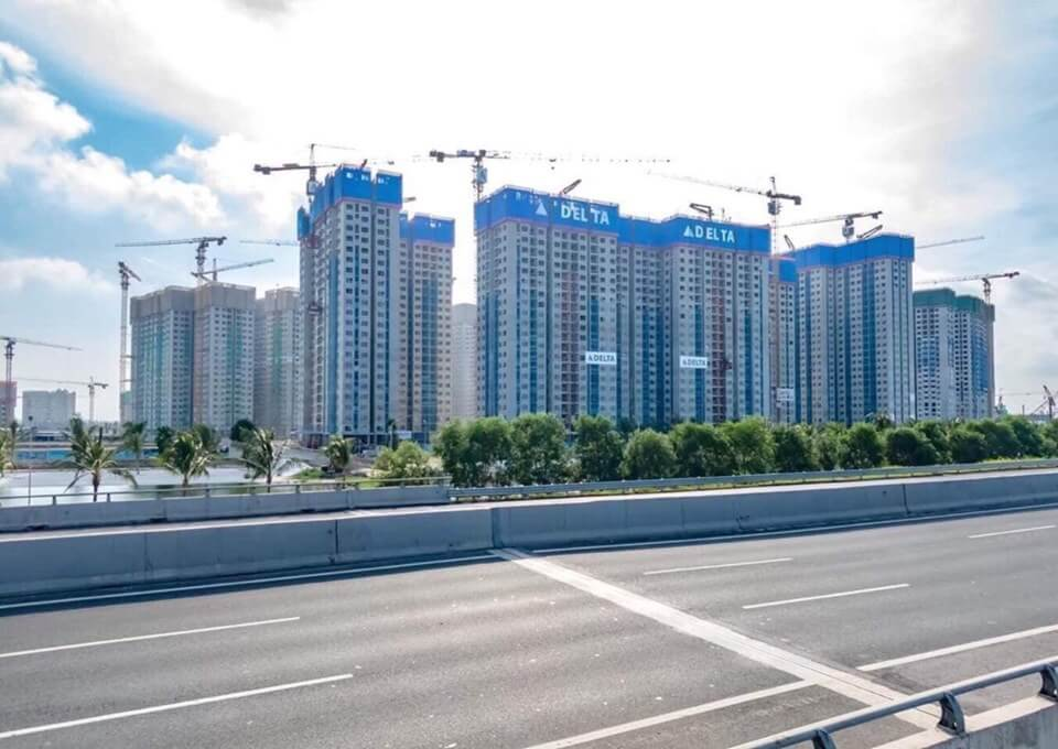 Dự án theo hướng đường cao tốc 5B: Hải Phòng - Hà Nội