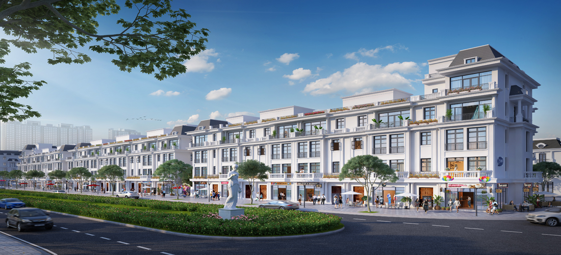 Shophouse có thanh khoản cao nhất tại dự án Vinhomes Ocean Park