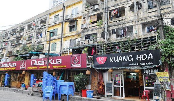 Chung cư cũ được ưa chuộng tại Hà Nội