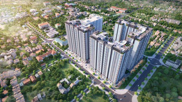 Phối cảnh dự án chung cư Linh Đàm - Hưng Thịnh Corp