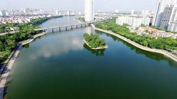 Hồ Linh Đàm giúp điều hòa không khí
