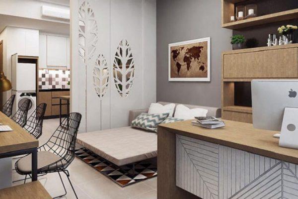 Thiết kế căn hộ Officetel DLC Complex