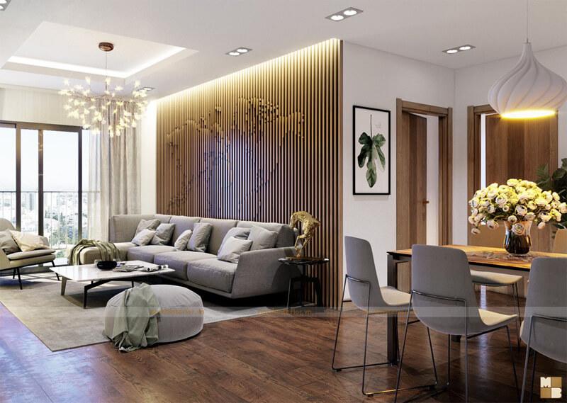 Thiết kế căn hộ Five Star Recidence