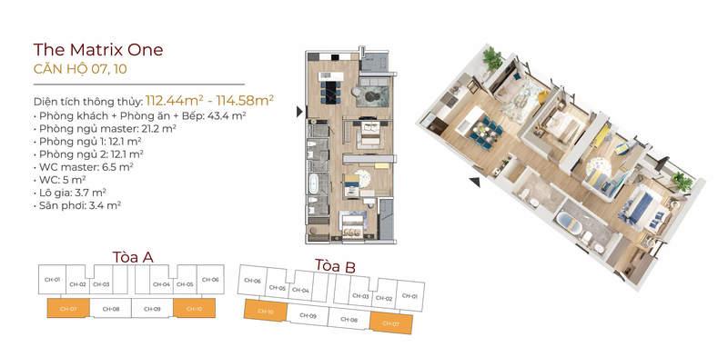 Thiết kế căn 08A-10