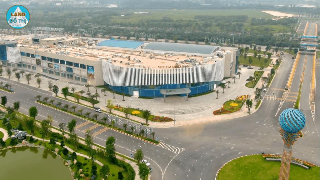 Vincom Mega Mall lớn nhất miền Bắc chuẩn bị khai trương