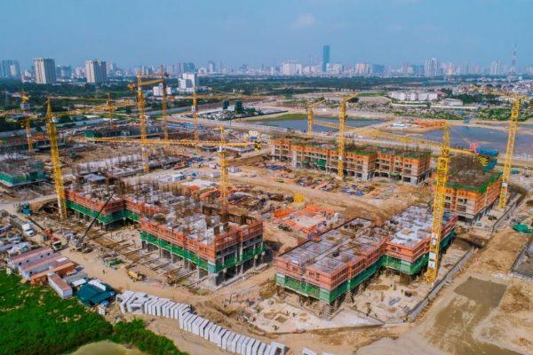 Tiến độ thực tế dự án Imperia Smart City tháng 3/2020