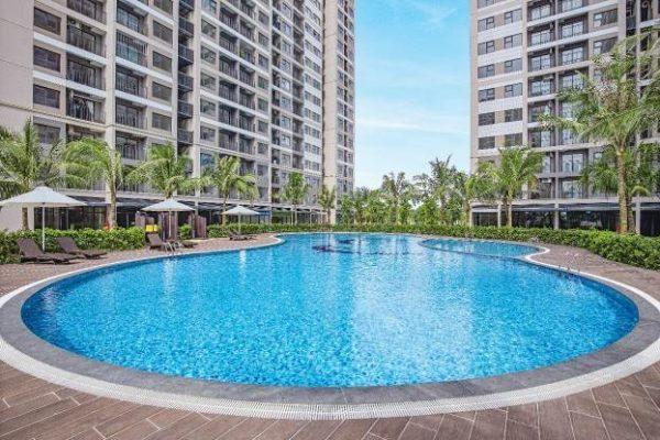 Bể bơi resort tại Vinhomes Ocean Park