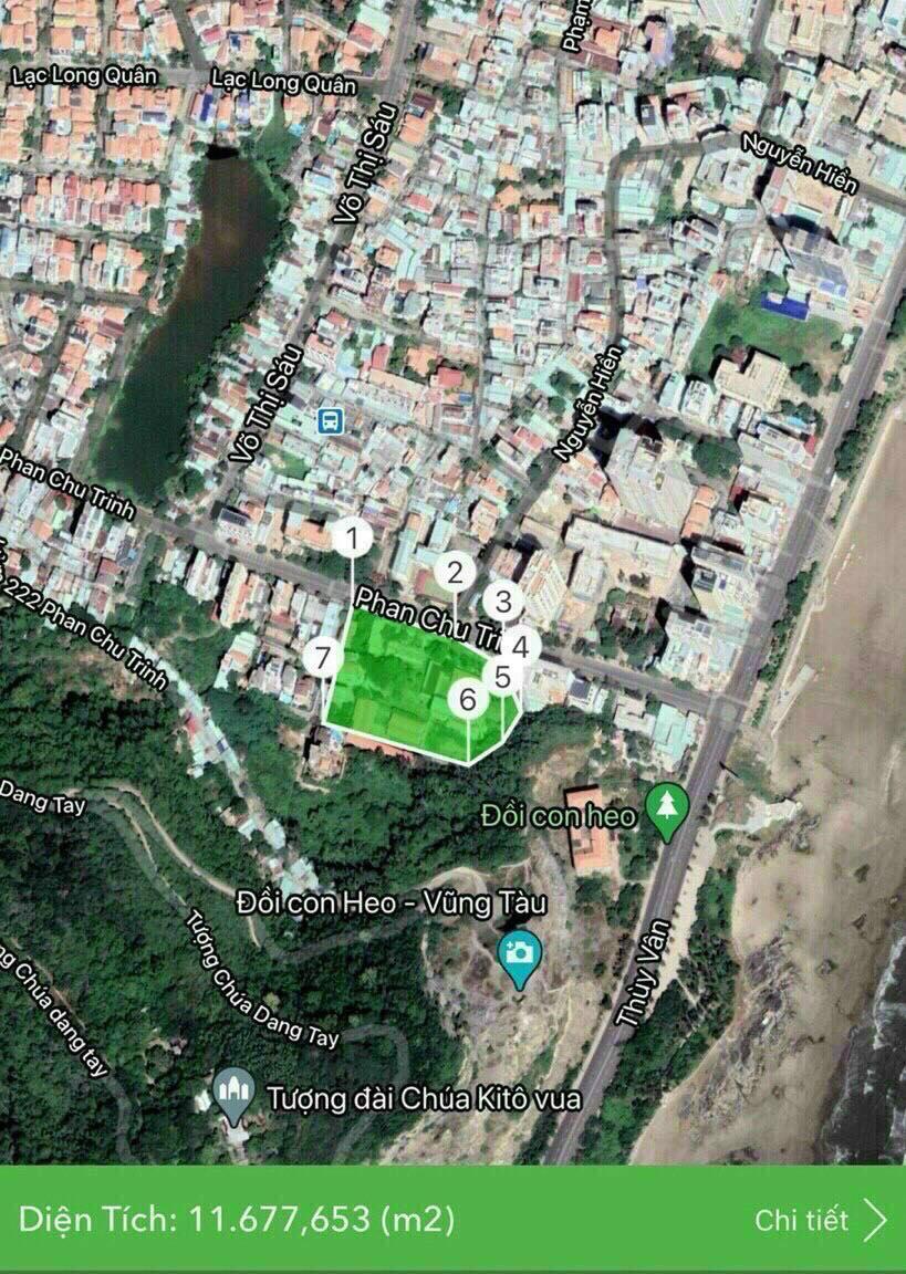 Vị trí Đồi Dừa Complex