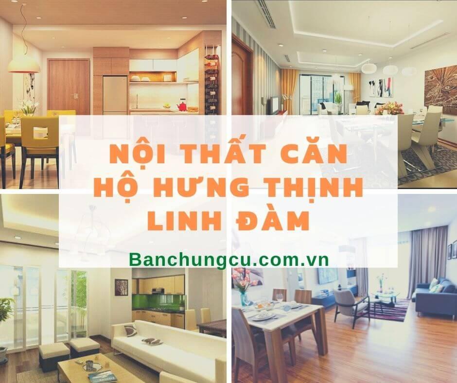 Căn hộ mẫu chung cư Hưng Thịnh Linh Đàm