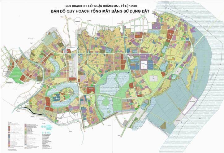 Quy hoạch quận Hoàng Mai