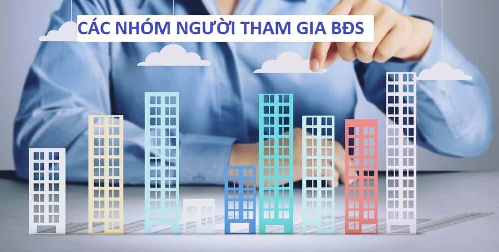 6 nhóm nhà đầu tư BĐS