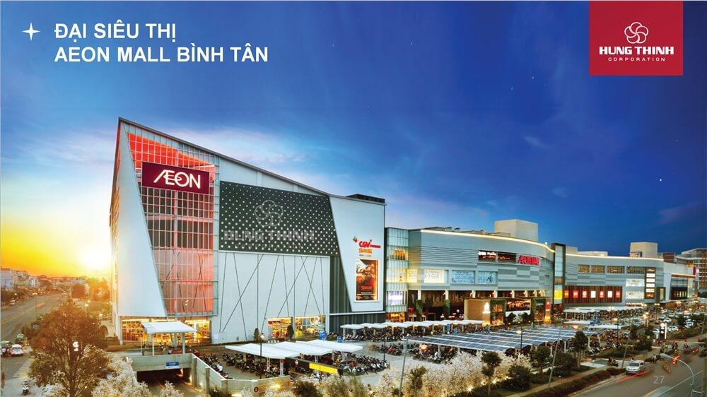 Dự án liền kề Aeon Mall Bình Tân